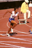 American Sprinter Edith Mcguire at Tokyo 1964 Summer Olympics  Japan