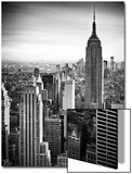 Lifestyle Instant  Skyline  Empire State Building  Manhattan  Black and White Photography  NYC  US