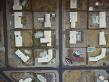 Aerial of a Housing Development  Palm Springs  California  1958