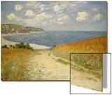 Chemin dans les blés à Pourville, 1882 Acrylique par Claude Monet