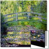 Le pont japonais, Giverny, 1899 Acrylique par Claude Monet