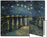 Nuit étoilée sur le Rhône,1888 Acrylique par Vincent Van Gogh