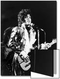 Prince, Rocks the Stage During His Purple Rain Tour in 1984 Acrylique par Vandell Cobb