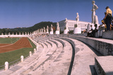September 1  1960: Shot of the Olympic Track and Field Stadium  1960 Rome Summer Olympic Games