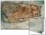 Chat endormi Acrylique par Paul Klee