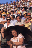 August 1960: Spectators at the 1960 Rome Olympic Summer Games