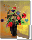 Vase of Flowers Acrylique par Odilon Redon
