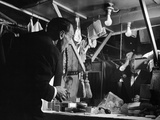 1947: Comedian Joe E Lewis Backstage at the Copacabana Nightclub in Nyc
