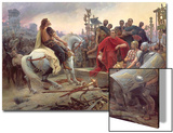 Vercingetorix Throws Down His Arms at the Feet of Julius Caesar  1899