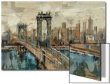 Vue de New York Acrylique par Silvia Vassileva