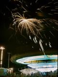 1955: Fireworks Display over Iowa State Fair  Des Moines  Iowa