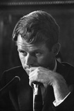 1957: Senator Robert F Kennedy Attending a Labor Hearing in Washington  DC