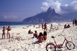 July 1973: Ipanema Beach  Rio De Janeiro