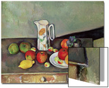 Still Life with Milkjug and Fruit  circa 1886-90