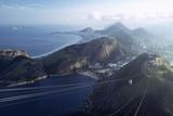 The Sugar Loaf Cable Car (Bondinho Do Pao De Acucar)  Rio De Janeiro  Brazil