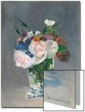 Flowers in a Crystal Vase  C1882