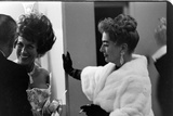 Guests Smoking and Talking at the Met Fashion Ball  New York  New York  November 1960