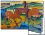 Red Horses (Grazing Horses Iv)  1911