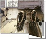 Les Raboteurs de parquet, 1875 Acrylique par Gustave Caillebotte