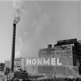1946: Exterior of the Hormel Foods Corporation Meat Factory  Austin  Minnesota