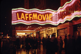 1945: Laff Movie Theater at 236 West 42nd Street Manhattan  New York  NY
