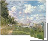 Le bassin d'Argenteuil, 1872 Acrylique par Claude Monet