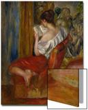 Femme qui lit, vers 1900 Acrylique par Pierre-Auguste Renoir