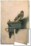 Le Chardonneret, 1654 Acrylique par Carel Fabritius