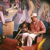 July 17 1955: Guests in the Mr Toad Wild Ride  Disneyland  Anaheim  California