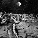 Unidentified Dancers on Set of Film 'Destination Moon'  1950