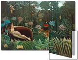 Le rêve, 1910 Acrylique par Henri Rousseau
