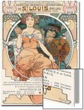 Poster for the World Fair, St, Louis, 1903 Acrylique par Alphonse Mucha