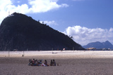 Beach in Rio De Janeiro  Brazil