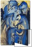 Tower of the Blue Horses  1913 (Postcard to Else Lasker-Schueler)