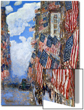 The Fourth of July, 1916 Acrylique par Childe Hassam