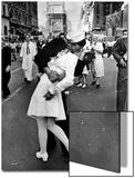 V-J Day in Times Square Acrylique par Alfred Eisenstaedt