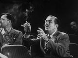Walt Disney Gives Direction for His Forthcoming Story  Sleeping Beauty  Burbank  California  1953