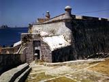 December 1946: El Morro Castle and Morro Lighthouse  Havana Harbor  Cuba