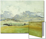 In the Dolomites  1914