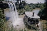 July 17 1955: Disneyland's Jungle Cruise Featuring Audio-Animatronics Animals  Anaheim  California