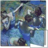 Blue Dancers, circa 1899 Acrylique par Edgar Degas