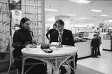 Heiress and Fashion Designer Gloria Vanderbilt with Husband Wyatt Cooper  New York  1974
