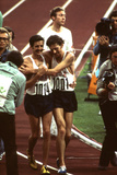 Us Frank Shorter  Winner of the Marathon  at 1972 Summer Olympic Games in Munich  Germany