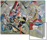In the Grey, 1919 Acrylique par Wassily Kandinsky