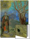 The Buddha, 1906-1907 Acrylique par Odilon Redon