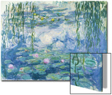 Waterlilies, 1916-19 Acrylique par Claude Monet