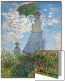 Woman with a Parasol - Madame Monet and Her Son  1875