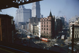View of Chatham Square as Seen from the Third Avenue Line  New York  New York  1955