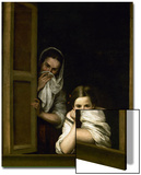 Women from Galicia at the Window  1655-1660