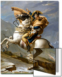 Napoleon Crossing the Alps  c1800